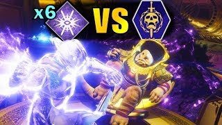Destiny 2: SIX NOVA BOMBS vs Leviathan Raid!