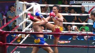 Muay Thai - Chamuaktong vs Yodpanomrung (ฉมวกทอง vs ยอดพนมรุ้ง), Rajadamnern Stadium, 10.10.18.