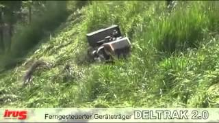 Slope Mowing DELTRAK 2 0 with different attachments