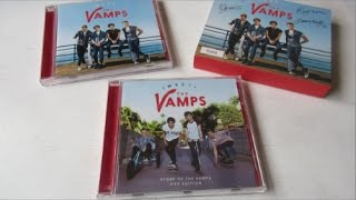 The Vamps - Meet The Vamps + Story Of The Vamps: DVD Edition  - Unboxing CD en Español