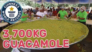 Largest guacamole - Guinness World Records