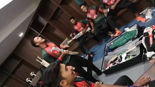 Oporadhi | অপরাধী | Shakib Al Hasan | Full Cover By Bangladesh Cricket team| Dressing room Version