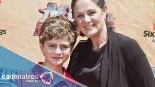 Erika Buenfil no permitirá que su hijo sea artista