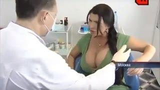 Ruski foto model kod doktora na pregledu