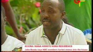 Nana Addo's Residence: NPP reacts to NDC provocation