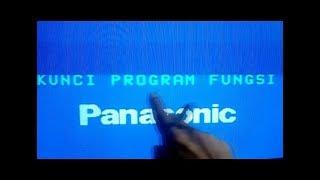 Cara Memperbaiki Tv Panasonic Kunci Program fungsi.mp4