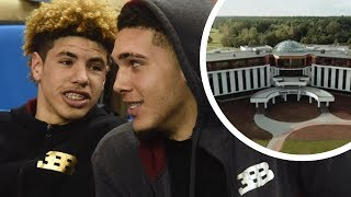 LaMelo & LiAngelo Ball Will Be Living Like KINGS in Lithuania