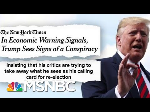 Trump Rattled Staff Fed Chair Fox News Conspiring Against Me The Beat With Ari Melber MSNBC