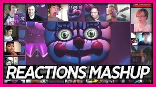 FNAF Sister Location Trailer Reaction's Mashup (Gamer's React) | ReactionArmy
