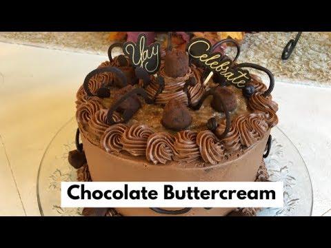 Xxx Mp4 Make Amazing Yummy Chocolate Buttercream Frosting 1 Min Video 3gp Sex