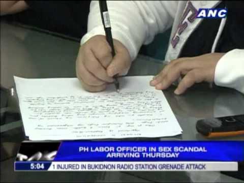 Xxx Mp4 Labor Officer In Sex Scandal Arriving Thursday 3gp Sex