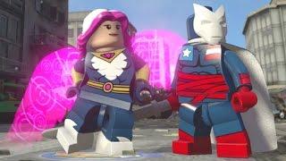 LEGO Marvel's Avengers - All Thunderbolts DLC Free Roam (Techno, Jolt, Mach-V, Songbird, Atlas, etc)