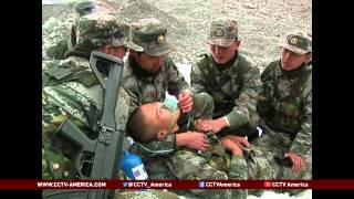 China gears up to defend border with Afghanistan