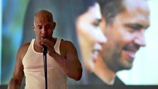 Vin Diesel Sings 'Habits (Stay High)' By Tove Lo