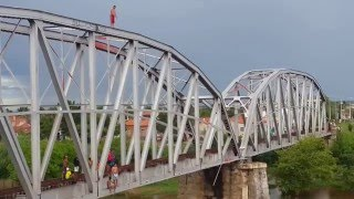 Pulando da ponte Iguatu Ceará 2016.