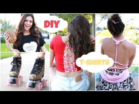 Easy & Unique DIY T shirts for Spring Break