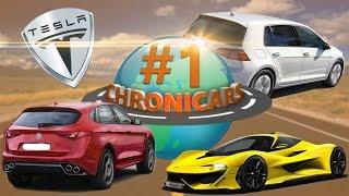 CHRONI'CARS NOVEMBRE: McLaren F1, Alfa Romeo Stelvio, Tesla P100D...