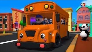 roues sur le bus | comptine pour enfants | rime de bus en français  | Wheels On The Bus | Bao Panda