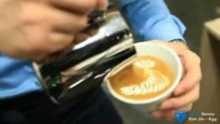 Barista Team Core  -Kim Jin Kyu- Latte Art