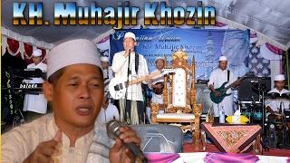 Ceramah full musik, syahdu dan lucu. KH. Muhajir Khozin dan hikmahnya