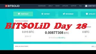 Bitsolid Day 28