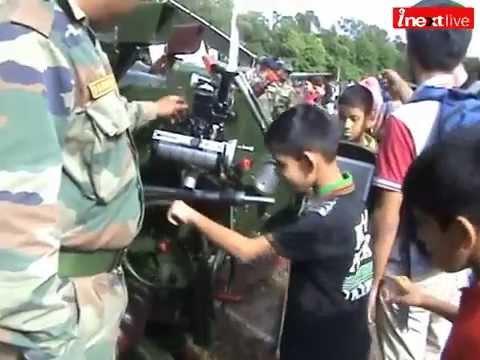 Indian army exhibition in Dehradun