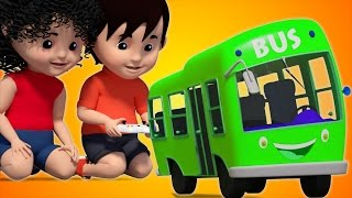 Bob The Train | Wheels On The Bus Go Round And Round | Nursery Rhymes | Baby Songs