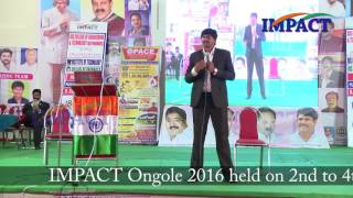 Inspiration by Sudheer Sandra at IMPACT Ongole 2016