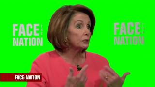 Pelosi Interview Green Screen