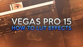 How To: Use LUT in Vegas Pro 15