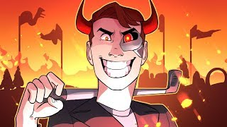 Why Am I So Evil??? (Golf It Funny Moments)