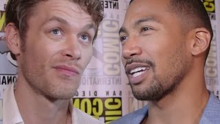 The Originals Cast Reacts To The Vampire Diaries Ending - Comic Con 2016