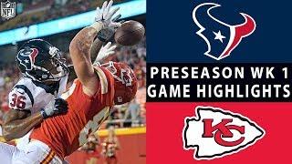 Texans vs. Chiefs Highlights   NFL 2018 Preseason Week 1