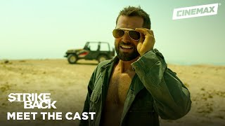 Meet the New Team: Sgt. Samuel Wyatt   Strike Back   Cinemax