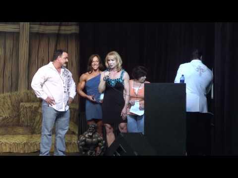 Betty Pariso receives LifeTime Achievement Award at Europa Dallas 2010