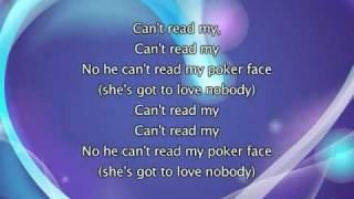 Lady Gaga - Poker Face [with lyrics]