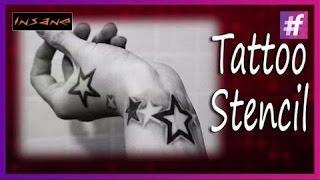 Get Best Tattoo Stencils | Tattoo Basics | Star Tattoo design