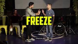 THE IMPROV | Freeze Round | Police Station