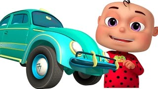 Five Little Babies Driving Transport Vehicles | Zool Babies Fun Songs | Nursery Rhymes Collection