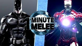 One Minute Melee S4 EP6 - Batman vs Ironman (DC vs Marvel)