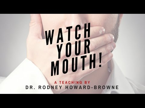 Watch Your Mouth with Dr. Rodney Howard Browne 11.1.2015