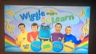 DVD Menu Walkthrough - 1x01 - The Wiggles - Wiggle And Learn: The Pick Of TV Series 6