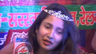FYM-MISS GRAND INDIA-2016/MISS MEHULY SARKAR-KOLKATA-WEST BENGAL-WINNER/CROWN CEREMONY