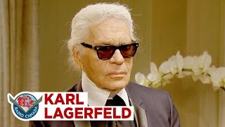 "Karl Lagerfeld on his creative drive, ""nobody can learn Karl Lagerfeld other than Karl Lagerfeld"""