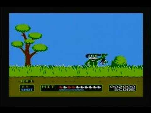Duck Hunt - The Green Dog