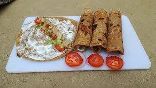 Chicken Paratha Roll Recipe | Kids Lunch Box Idea | Breakfast Recipe | Village Food Secrets