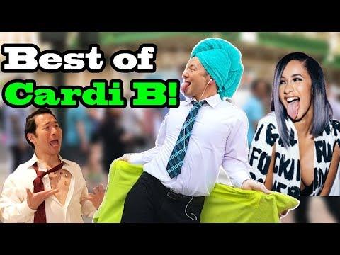 Best of CARDI B - SINGING IN PUBLIC (I like it, La Modelo, Bodak Yellow...)