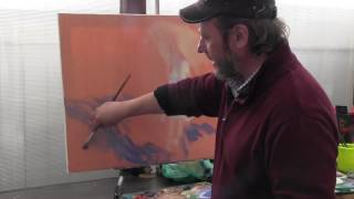 Igor Sakharov artist , video tutorial painting drawing lesson, impressionism