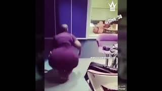 South African Chick With A Huge Booty Shows Off Her Dance Moves!  Video