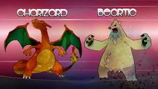 CHARIZARD + BEARTIC FUSION!! POKEMON FUSIONS!